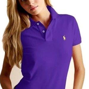 Ralph Lauren Purple Polo Shirt Sz L